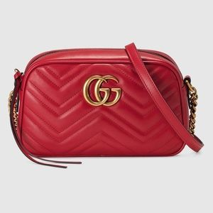 3e517f6a1499c8 Gucci · GG Marmont small matelassé shoulder bag